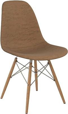 NyeKoncept Mid-Century Side Chair, Hazelnut