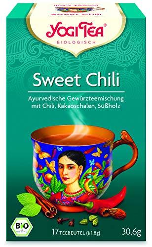 Yogi Tee Sweet Chili - 17 Tee Beutel - Yogi Tea -