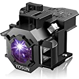 YOSUN v13h010l42 Projector Bulb for epson elplp42 PowerLite Home Cinema 83 83+ 83c 83v 410w ex90 emp-83h h330a Replacement Projector Lamp Bulb
