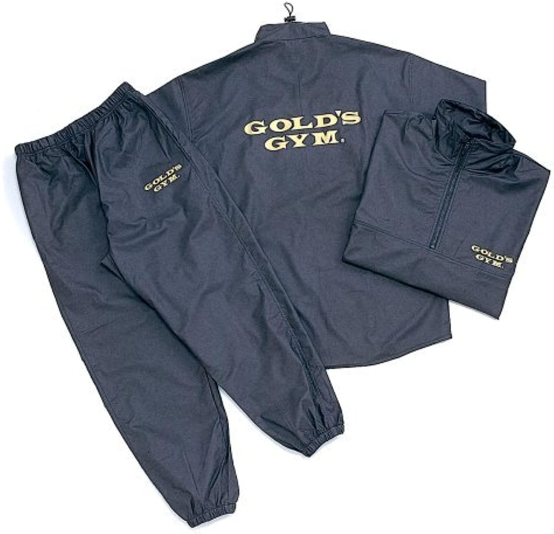 ゴールドS GYM サウナスーツ G5710 ブラックL