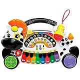 *VTech- *Remi la Zebra *marchosa Piano Aprèn Música Notes I Instruments amb Teclat Interactiu, Multicolor, Talla Única (3480-179122) , color/model assortit