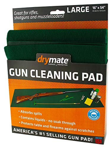 Drymate GPG1620 Handgun Size Gun Cleaning Pad, 16'...