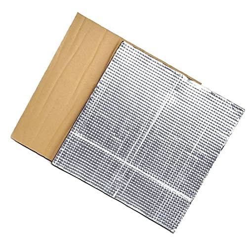 Plataforma caliente cama de aislamiento semillero de la impresora térmica Pad de aislamiento calefacción Cama Aislamiento Térmico algodón 2 piezas de plata, Accesorios para herramientas eléctr