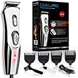 Daling Hair Clippers for Men with Cordless beard trimmer for Men, USB Rechargeable, Quiet, Easy to Use, Electric Grooming Home Hair Cutting Kit with 4 Guide Combs for Barbers, Men, Kids
