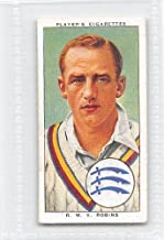 Walter Robins 1938 Player Cigarettes Cricketers #22 (EX)