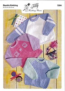 Unisex Jumper Sweater Knitting Pattern 7204 B00DDKHER6  Mode Vitalität