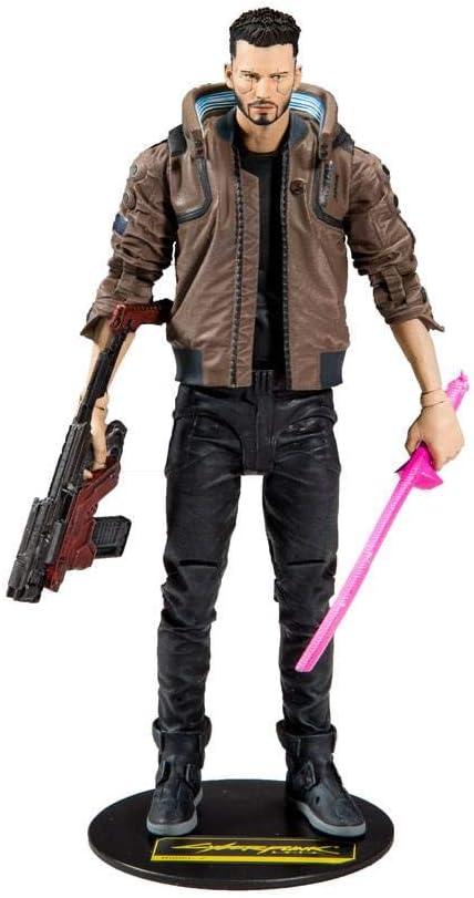 NM McFarlane Toys Cyberpunk 2077 Wave 1 Johnny Silverhand 7 Inch Action Figure