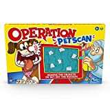 Hasbro Operation Pet Scan Board Game for 2 or More Players, Kids Ages 6 and Up, with Silly Sounds, Remove The Objects or Get The Buzzer