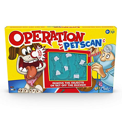 Operation Pet Scan Board Game for 2 or More Players, Kids Ages 6 and Up,...
