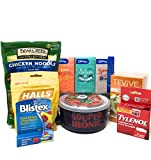 """Get Well Soon Love & Care Basket for Cold and Flu including """"Souper Ironic"""" Souper Mug and Bear..."""