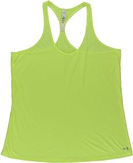 Under Armour Women Achieve Tank Top Neon Yellow XL