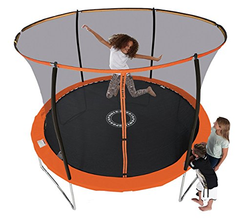 Sportspower 10ft Trampoline With Folding Enclosure 404.