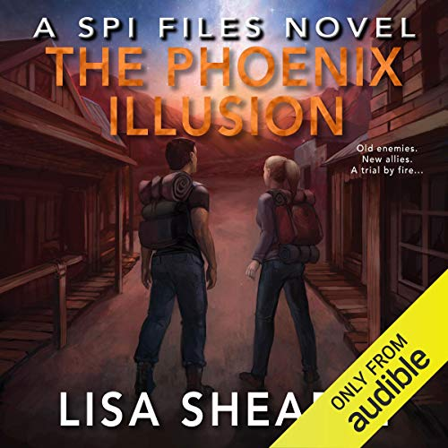 The Phoenix Illusion audiobook cover art