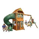 KidKraft Cloverdale Cedar Wood Swing Set / Playset F24917