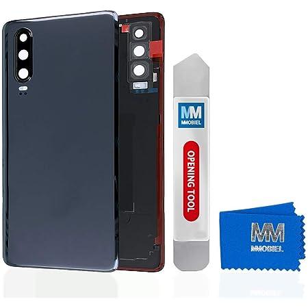 Mmobiel Backcover Akkudeckel Rückseite Rück Klappe Kompatibel Mit Huawei P30 Pro 6 47 Inch 2019 Schwarz Elektronik