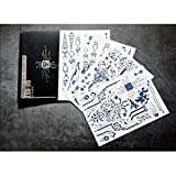 Futuro Cyber Silver Hand Temporary Fake Tattoo Sticker, placa de circuito del cuerpo humano para los fans de Cuberpunk 2077 Set de pegatinas de tatuajes de zumo