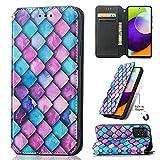 SCRENDY Funda Compatible con Nokia G50, Libro Caso Cubierta la Tapa magnética Protector de Billetera Cuero de la PU Carcasa, Patrón de Moda - 6