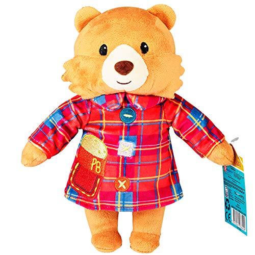 Rainbow Designs Paddington Bear Cuddly Toy - Official Adventures of Paddington Bear Teddy Bear - Soft Paddington Plush Toy - Gift for Toddlers and Children (Bedtime Paddington)