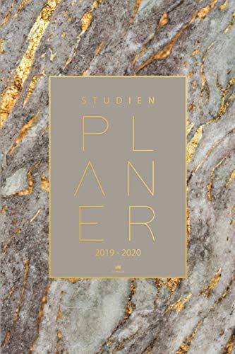 Studienplaner 2019 2020: Semesterkalender, Taschenkalender, Studienplaner, Studentenkalender 2019 - 2020 | Kalender, Planer, Timer, Terminplaner und Kalender von August 2019 bis September 2020