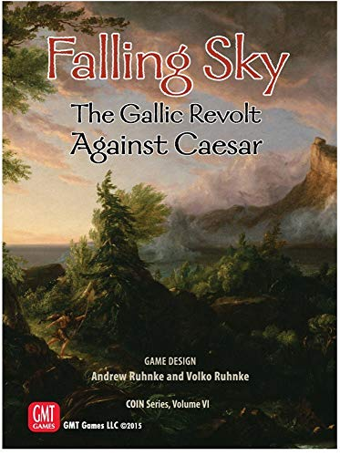 GMT Games GMT1514 Falling Sky: The Gallic Revolt Against Caesar 2nd Printing Coin Vol VI, Mehrfarbig