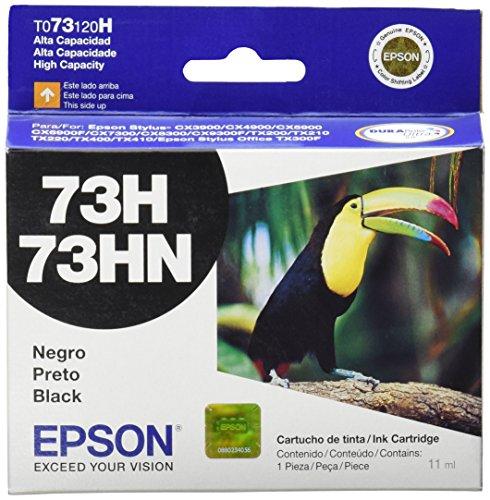 Epson T073120H-AL N.73H Cartucho, Color Negro