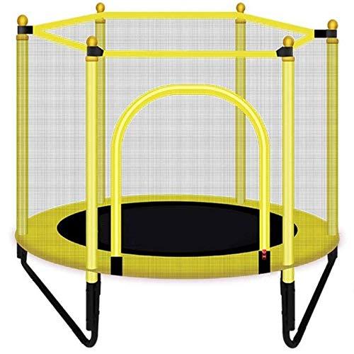 Trampoline de fitness avec Mini-trampoline, mini-trampoline saut de remise en forme for les enfants et adultes, trampoline avec filet de protection de la famille Intérieur / Extérieur Trampoline, Poid