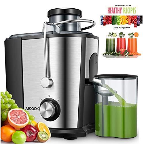 Licuadoras Para Verduras y Frutas, Aicook 600W Licuadora Con