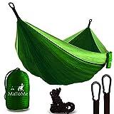 MalloMe Hammock Camping Portable Double Tree...