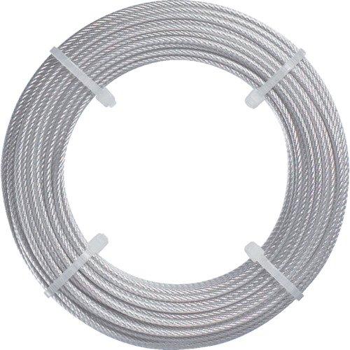 TRUSCO(トラスコ) ステンレスワイヤロープ Φ2.0mmX5m CWS-2S5