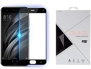 Xiaomi Mi6 Full Coverage Tempered Glass Screen Protector - Black.