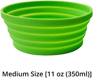Ecoart Silicone Expandable Collapsible Bowl for Travel Camping Hiking