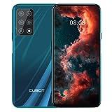 CUBOT X30 Smartphone sans contrat, 4G, 8 Go de RAM + 256 Go de ROM, écran HD 6,4