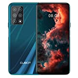CUBOT X30 Smartphone 4G Teléfono Móvil, Pantalla FHD + de 6,4 Pulgadas, 8 GB RAM + 256 GB ROM, Cinco Cámaras, Dual SIM, 4200 mAh, Android 10.0, NFC, Face ID, Verde