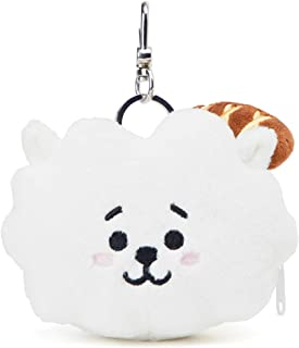 BT21 Official Merchandise by Line Friends - Character Keychain Coin Purse Bag Charm
