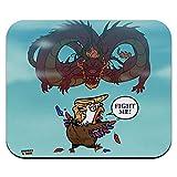 Trump Trade War mit China Red Dragon Eagle Huhn Low Profile dünne Mauspad Mousepad