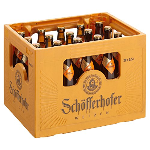 Schöfferhofer Hefeweizen MEHRWEG, (20 x 0,5 l)