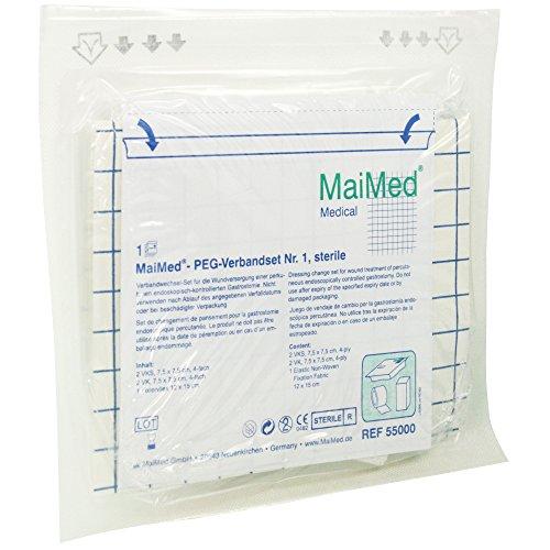 MAIMED PEG+SPK Verbandset Nr.1 steril 15 St