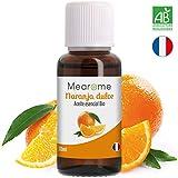 Aceite Esencial de Naranja Dulce Bio 30ml, 100% Natural y Puro | Vitamina C Antiestrés Sistema Inmunitario Piel Prevenir Resfriados Cuidado Facial Masaje | Ideal Humidificador Ultrasónico Aromaterapia