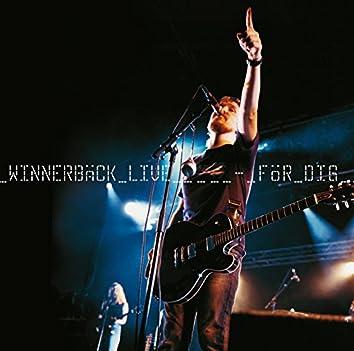 Winnerbäck Live - För Dig