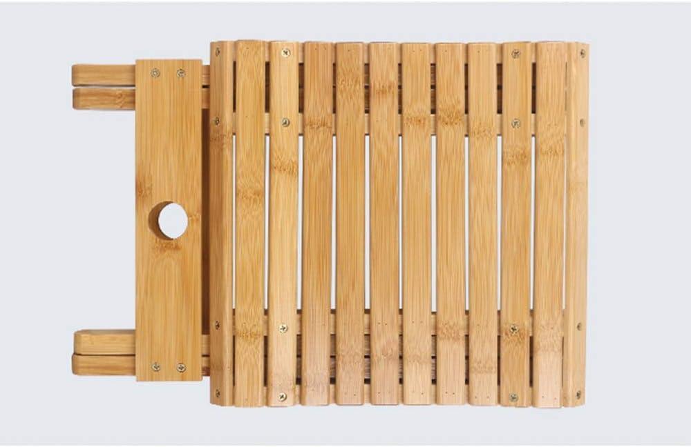 HAOHAO Bambou Pliant Tabouret Accueil Portable Pêche extérieur Chaise Petit Banc Enregistrer l'espace (Color : 3) 2