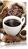 Edler Kaffee und Kaffebohnen , Format: 60x80 auf