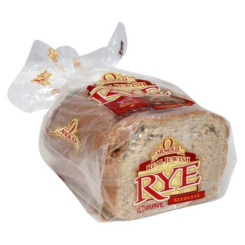 Arnold Real Jewish Seedless Rye Bread, 1 lb