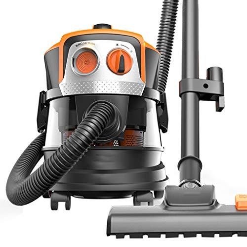 TY-Vacuum Cleaner MMM@ Staubsauger Home Flüsterleiser 700W Hochleistungs-Staubsauger Kraftvolle Staubsaugermilben Hand-Teppich-Multicone-Zyklonfilter-Staubsauger 8L Kapazität
