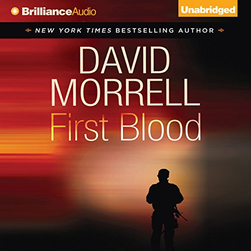 First Blood audiobook cover art