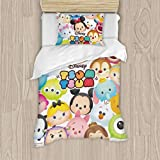 Tsum Duvet Cover Full Bedding Collections Comforter Be Applicable for Girls/Boys