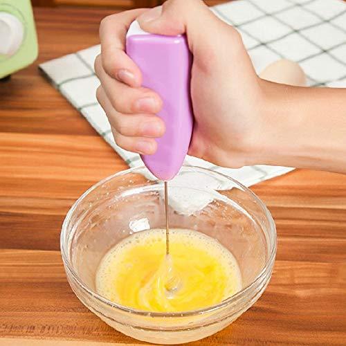 YOUZHA keukenaccessoires, mini-eiermixer, milkshaker, milkshaker, schuimschuimer, mixer Celeste Y Blanco