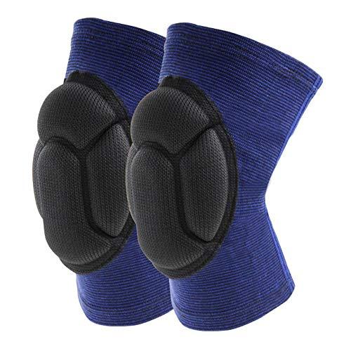 JUELE 1 par de esponjas de alta densidad anticaídas y anticolisiónrodilleras vendaje de rodilla deportes rodilleras protectores de rodilla rodilleras deportivas para hacer ejercicio