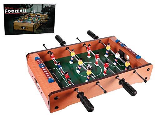 Preis am Stiel Tischfußballspiel ''Kicker''   Tischfußball   Tischkicker   Geschenkidee für Kinder   Spieltisch   Kickertisch