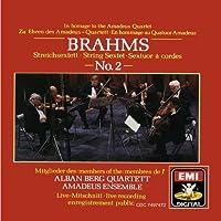 Brahms: Sextet No. 2 / Andante excerpt (from Sextet No. 1), Opp.18, 36 (2005-03-01)