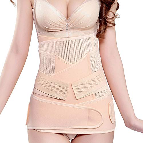 LSRRYD Postnatale Bandage Lombare della Cinghia di Sostegno Materno Sostegno Postpartum Wrap Cintola Binding delle Donne della Fascia Shapewear (Size : M)